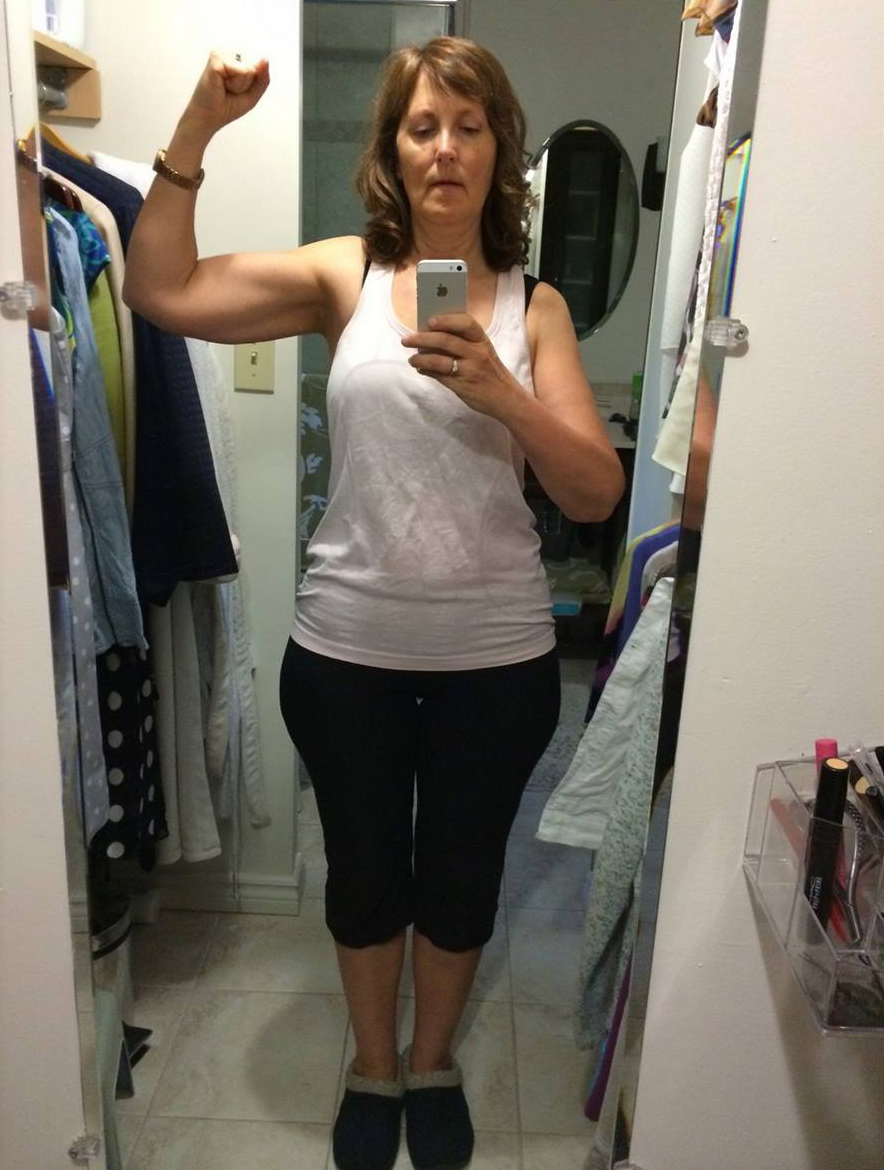 NLC-Fitness-Centre-Testimonials-Valerie-after The amazing part to me is that it was so easy
