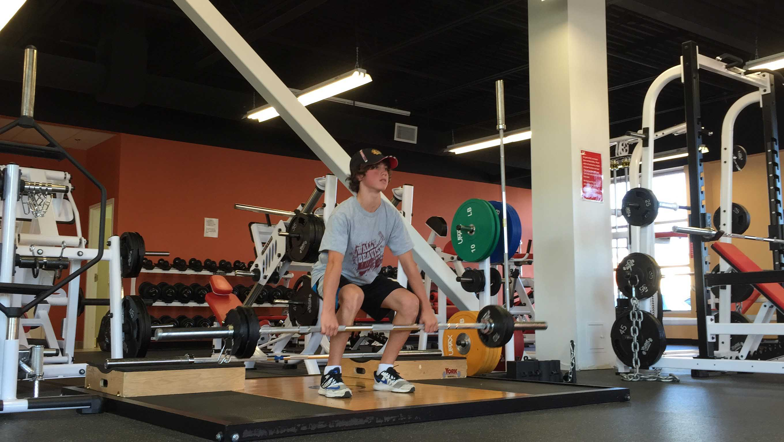 NLC-Fitness-Centre-Guelph-Workout-30 His deadlift increased from 65 lbs to 105 lbs