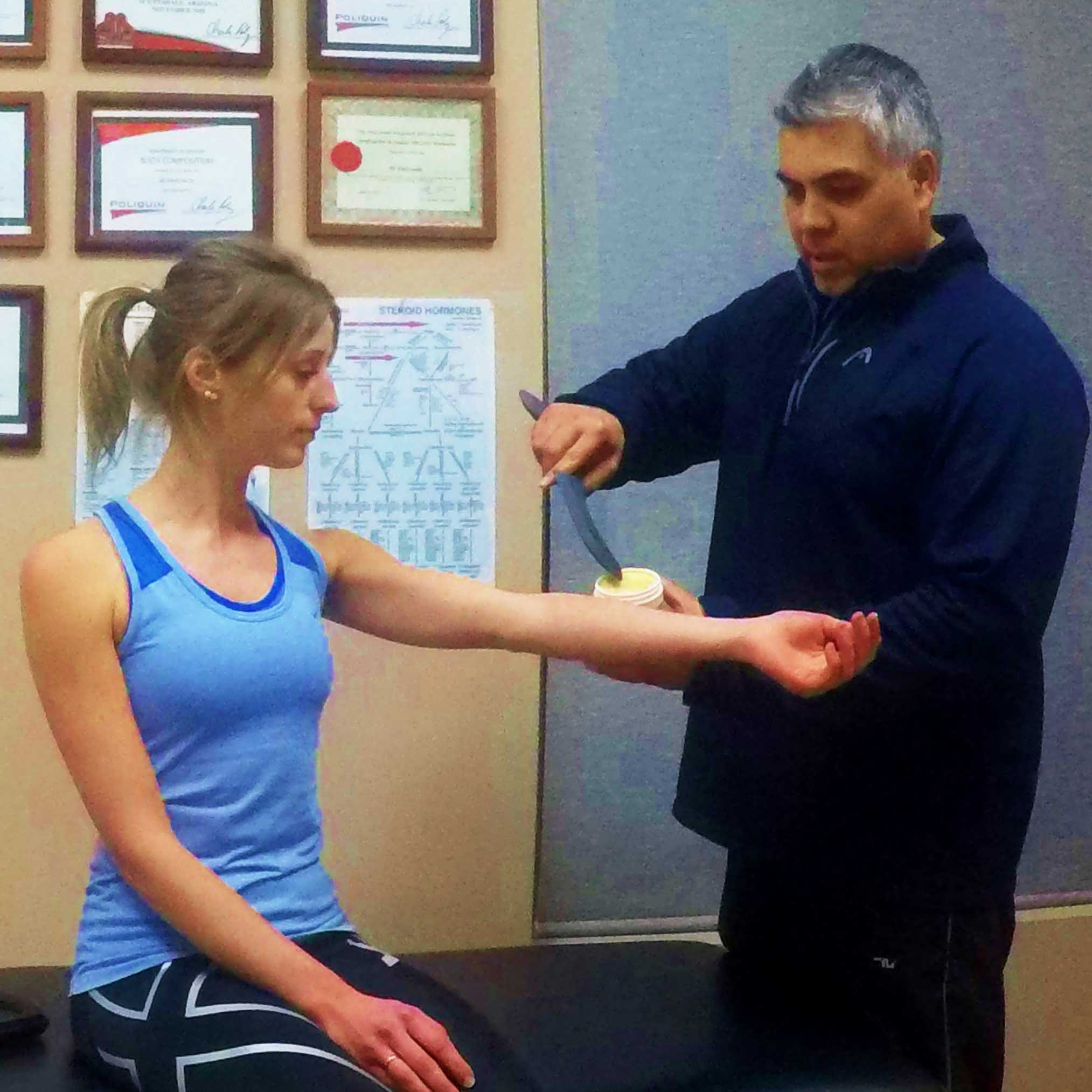 NLC-Fitness-Centre-Fascial-Abbraision-2 Program design for structural imbalances
